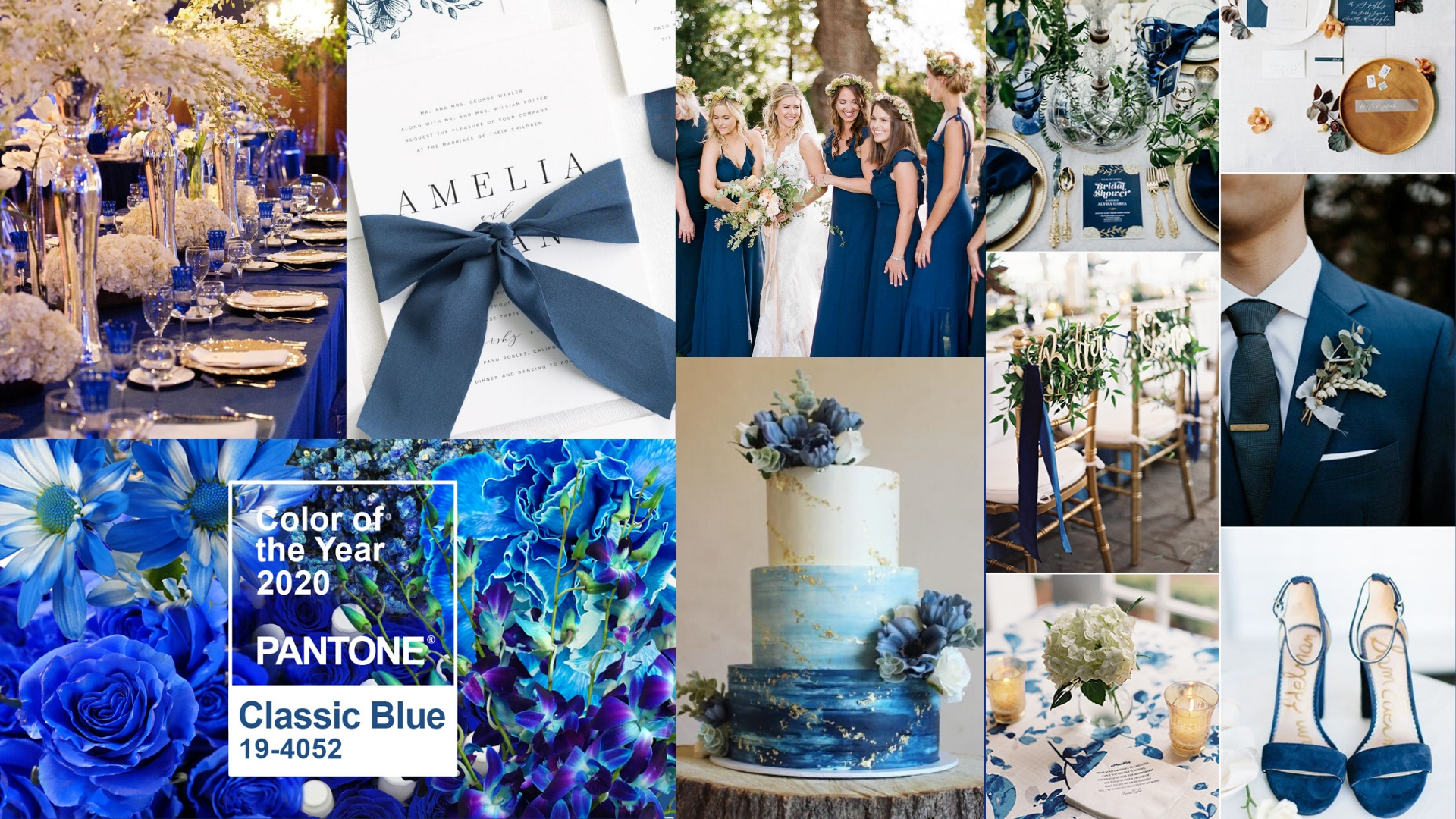 Culoarea anului 2020 - Albastru clasic